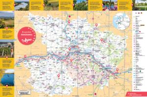 verso carte touristique