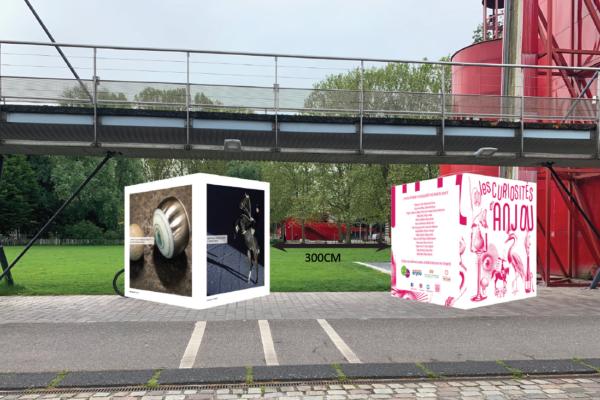 Simulation 3D des cubes